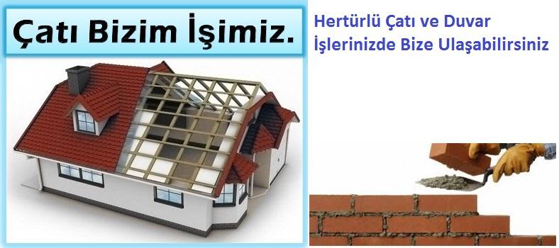 Caddebostan çatı ve duvar ustası İstanbul